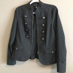 INC military style jacket